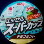 【お菓子】明治エッセルスーパーカップチョコミント を食べてみた